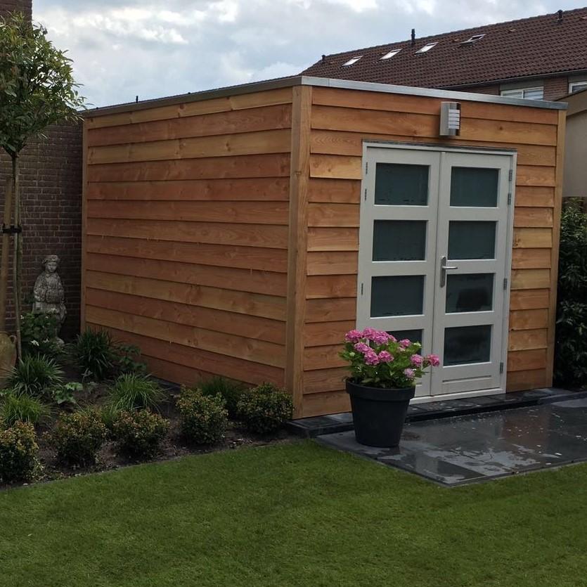 Bouw tuinhuis en pergola